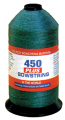 BCY INC 450+ Bowstring Material Green