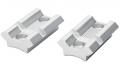 TRADITIONS INC 2 Pc In-Line Bases Silver