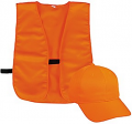 OUTDOOR CAP COMPANY INC Youth Cap & Vest Combo Blaze Orange