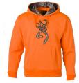 BROWNING Browning Hoodie w/RTX Buckmark Blaze Orange 2Xlarge