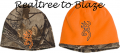 BROWNING Browning All Season Reversible Beanie Realtree Xtra/Orange