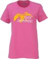 PIVOTAL PARTNERS LLP Ladies Duck Commander Short Sleeve Shirt Hot Pink Medium