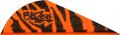 "BOHNING CO LTD Blazer Vanes 2"" Orange Tiger"