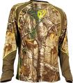 ROBINSON OUTDOOR PRODUCTS 1.5 Performance L/S Shirt  Lg Trinity Tech Realtree Xtra Camo