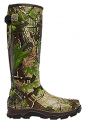 LA CROSSE FOOTWEAR INC 4X Burly Boot Size 8 Non Insulated Realtree APG