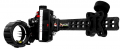 TOMORROW'S RESOURCES UNLIMITED Accutouch Carbon Pro Slider Sight 3 Pin .019 Black Accustat