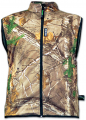 RIVERS WEST APPAREL INC Cold Canyon Waterproof Fleece Vest Realtree Xtra Camo Medium