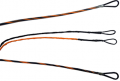 FIRST STRING PRODUCTS LLC First Draw Genesis String/Cable Set Sunset Orange/Black
