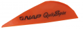 "NEW ARCHERY PRODUCTS CORP Quik Spin ST 2"" Speedhunter Flo Orange Vanes"