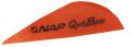 "NEW ARCHERY PRODUCTS CORP Quik Spin ST 2"" Speedhunter Flo Orange Vanes"