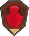ALLEN CO INC Allen Antler Mounting Kit Red Skull Cap