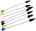 "HOT SHOT MANUFACTURING Plastic Broadhead Darts 4"""