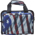 ALLEN CO INC Allen Victory Duplex Handgun Case Custom Flag Pattern