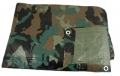 TEXSPORT CO Ripstop Tarp Camo 8'x10""