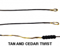 "MATHEWS INC Barracuda Tan/Cedar String 98 1/2"""
