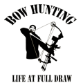 WESTERN RECREATION IND Bowhunter Full Draw Decal 6x6