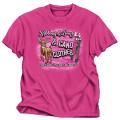 BUCK WEAR INC Ribbons & Bows & Camo Pink Tshirt Youth Large