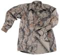 NATURAL GEAR Bush Shirt Natural Camo Medium