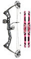 """SA SPORTS 15 Raptor Bow Right Hand Pink Accent 19-28"""" 25-45#"""