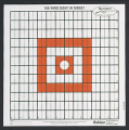 ALLEN CO INC Allen/Remington 100yd Sight-In Grid Style Target