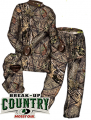 HUMAN ENERGY CONCEALMENT SYS Hecs Suit Mossy Oak Country Small