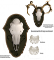MOUNTAIN MIKES REPRODUCTIONS Black Forest Deer Kit