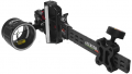 TOMORROW'S RESOURCES UNLIMITED Accutouch Plus Carbon Pro Slider Sight 1 Pin .010 Black