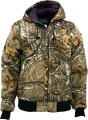 WALLS INDUSTRIES INC Womens Insulated Hooded Jacket Realtree Xtra Camo Xlarge