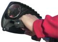KOLPIN POWERSPORTS INC Kolpin Hand Guard w/Mirror Black