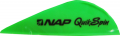 "NEW ARCHERY PRODUCTS CORP Quik Spin ST 2"" Speedhunter Flo Green Vanes"