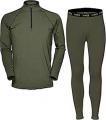 HUMAN ENERGY CONCEALMENT SYS Hecs Base Layer Pants & Shirt Green Small