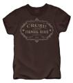 CLUB RED Crush Farm Girl Brand Tshirt Chocolate Small