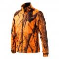 Soft Shell Fleece Jacket Camo Blz Large