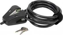 """COVERT SCOUTING CAMERAS INC Covert 6' 5/16"""" Black Python Cable & Lock"""