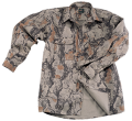 NATURAL GEAR Bush Shirt Natural Camo Large