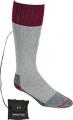 NORDIC GEAR INC Lectra Sox Wader Style Sock Medium Gray/Maroon