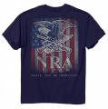 BUCK WEAR INC NRA Keep And Bear Arms Shirt Navy Xlarge