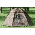 Tent - Camo Hex Dome - 3 Person