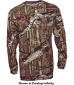 WALLS INDUSTRIES INC Mossy Oak Long Sleeve Tshirt Breakup Infinity 2Xlarge