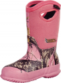 ROCKY BRANDS WHOLESALE LLC Adolescent Core Rubber Boot 400g M.O.Pink Size 7