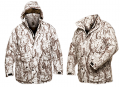 NATURAL GEAR Waterproof Insulated Parka Snow Camo Large