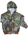 BONNIE & CHILDRENS SPORTSWEAR Sweat Jacket Mossy Oak Breakup 6 - 12 Months