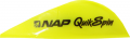 "NEW ARCHERY PRODUCTS CORP Quik Spin ST 2"" Speedhunter Flo Yellow Vanes"