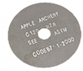 APPLE ARCHERY PRODUCTS LLC Apple Black Sil.025 Cutoff Blade