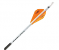 NEW ARCHERY PRODUCTS CORP NAP Quickfletch w/Blazer Vanes White/Orange/Orange