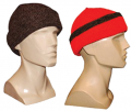 RELIABLE OF MILWAUKEE Knit Cap Brown Reversible to Blaze