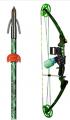 AMS BOWFISHING 16 AMS Swamp-It Bowfishing Bow Kit Left Hand