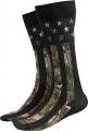 BUCK WEAR INC Camo Flag Socks OSFM