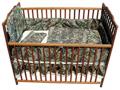 BONNIE & CHILDRENS SPORTSWEAR 3 Piece Crib Set Cream Sheet Breakup