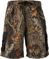 WEBER CAMO LEATHER GOODS Mens Swim Shorts Breakup Camo Large